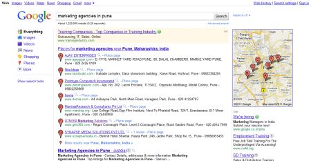 marketing agencies in pune - Google Search - 450w