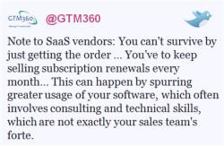 tweet01 250w2 SaaS Will Change The Outcome Of The Bloatware Versus Light Apps Debate